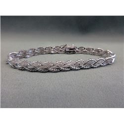 Ladies Diamond-set Tennis Bracelet