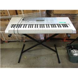 Casio LK-290 Electric Keyboard & Stand