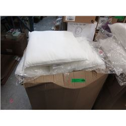 "Large Case of New 18"" Cushion Forms"