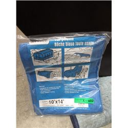 2 New Western Rugged 10 Foot x 14 Foot Poly Tarps