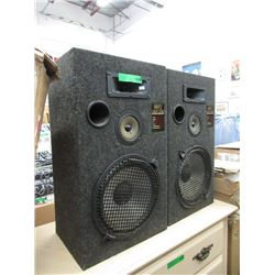 Pair of 8812 Linear Faze Floor Speakers