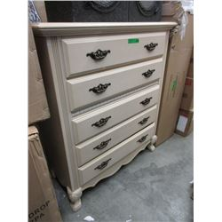 5 Drawer Wood Dresser - Fairmont Designs