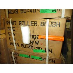 "Case of 5 New 5"" Paint Roller Brushes"