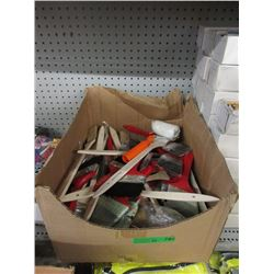 20+ Assorted New Paint Brushes & Rollers