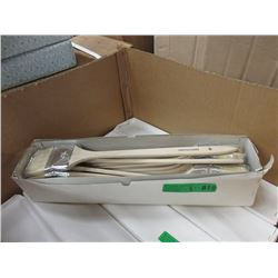 "3 Dozen New Long Handled 3"" Angle Brushes"