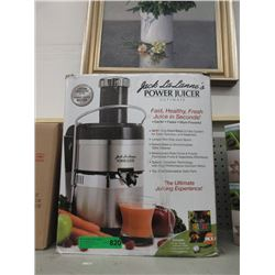 Jack La Lanne's Ultimate  Power Juicer - Open Box