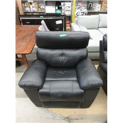 New Black Power Reclining Arm Chair