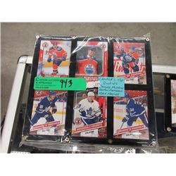 Canada's Top Rookies Trading Cards - 6 Pieces