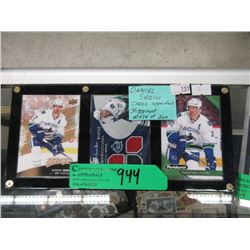 3 Daniel Sedin Hockey Trading Cards