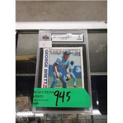 1982 Graded #201 George Brett O-Pee-Chee Card