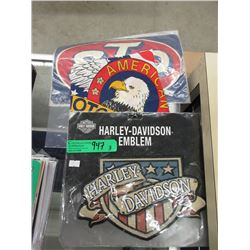 Large Harley Davidson Emblem and More