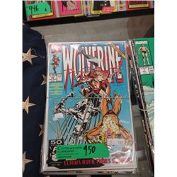 7 Bagged and Carded Wolverine Comics