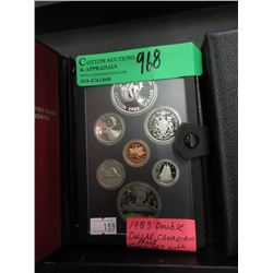 1983 Double Dollar Canadian Proof Coin Set