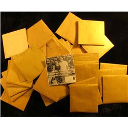 (10) 1958 D Cents, BU & (28) 1959 Cents, BU. All stored in manilla envelopes.