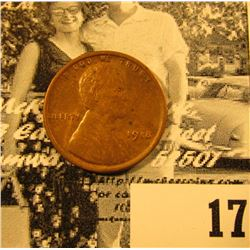1918 P Lincoln Cent, Brown Uncirculated.
