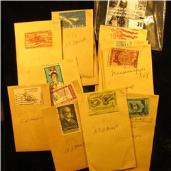 Pack of (179) Total Stamps-13 varieties-Older Commemoratives.