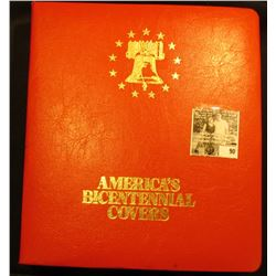 """""""America's Bicentennial Covers 1776-1976 Once…In Your Lifetime"""", Includes dozens of stamped covers."""