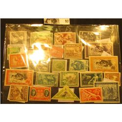 Nice group of Jamaica, Lietuva, Malta, Monaco, and etc. Stamps, which appear to be mint unused older