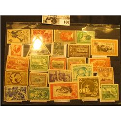 Nice selection of Mint, Unused Foreign Stamps including Mexico, Malta, Greenland, New Zealand, Trava
