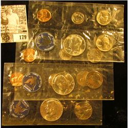 (3) 1965 U.S. Special Mint Sets in original cellophane, but with no envelopes. Each set contains fiv