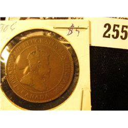 1906 Canada Large Cent, VG.