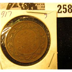 1917 Canada Large Cent
