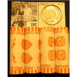 (4) 2004 D Solid Date Rolls of Gem BU Michigan Statehood Commemorative Quarters in bank-wrapped Roll