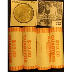 (4) 2005 D Solid Date Rolls of Gem BU Minnesota Statehood Commemorative Quarters in bank-wrapped Rol
