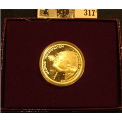 1732-1982 S U.S. Proof Silver Commemorative Dollar in original box of issue, .900 fine Silver.