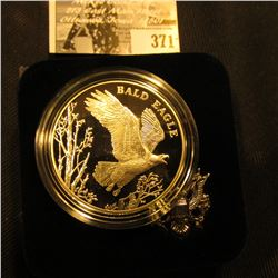 2003 P National Wildlife Refuge System Centennial Medal depicting the Bald Eagle, Proof, 26.73 grams