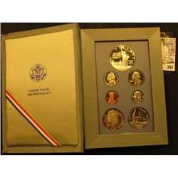 1986 U.S. Silver Prestige Proof Set, original as issued.