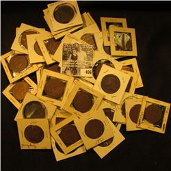 Small Hoard of Great Britain Large Pennies: 1912, (2) 14, 15, (4) 17, (3) 18, (2) 1920, (4) 21, (2)