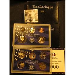 1981 S, 82 S, & 2000 S U.S. Proof Sets. Original as issued.