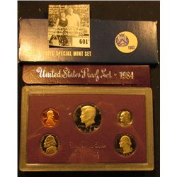 1967 U.S. Special Mint Set; & 1984 S U.S. Proof Set both in original holders as issued
