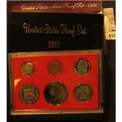 1982 S & 89 S U.S. Proof Sets in original boxes as issued.