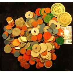 Large lot of Sales Tax & O.P.A. Tokens.