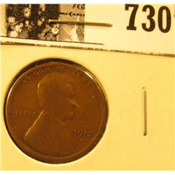 1913 S Lincoln Cent, Good.