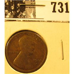 1914 S Lincoln Cent, Good-VG.
