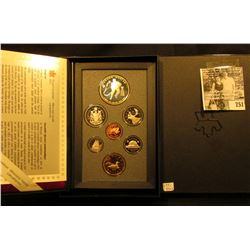 1993 Canada Double Dollar Proof Set in original hard case of issue.