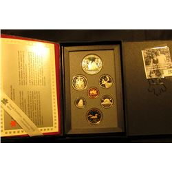 1989 Canada Double Dollar Proof Set in original hard case of issue.