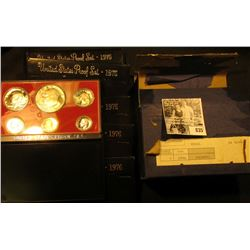 (5) 1976 S U.S. Proof Sets original as issued in original shipping box.
