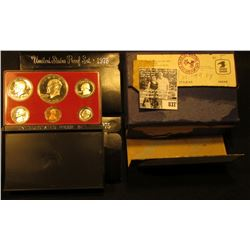 (2) 1975 S Bicentennial U.S. Proof Sets original as issued in original shipping box.
