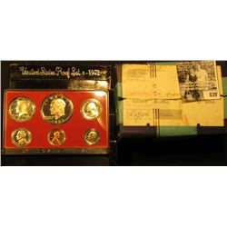 (5) 1973 S U.S. Proof Sets as issued in original shipping box.