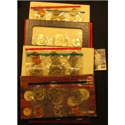 1976 P & D U.S. Mint Set, 1976 Three-Piece Silver Mint Set; 78, & 85 U.S. Mint Sets. All original as