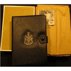 1978 Edmonton Canada Double Dollar Double Struck Canada Coin Set in original holder of issue. Includ