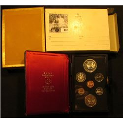 1974 Winnipeg Canada Double Dollar Double Struck Canada Coin Set in original holder of issue. Includ