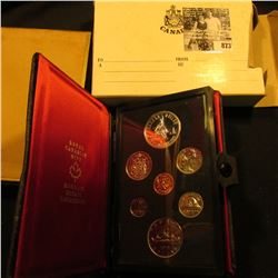 1975 Calgary Canada Double Dollar Double Struck Canada Coin Set in original holder of issue. Include
