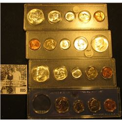 1967 U.S. Special Mint Set, original as issued; 1959 & (2) 1964 BU Year Sets in Snaptight cases.