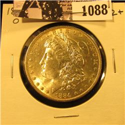 1088 . 1884 O U.S. Morgan Dollar, Brilliant Uncirculated.