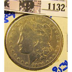 1132 . 1904-S Semi Key Date Morgan Dollar